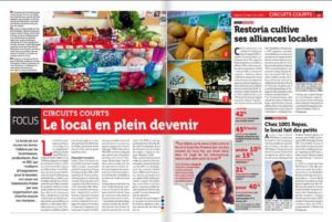 Article de journal animations Charlet