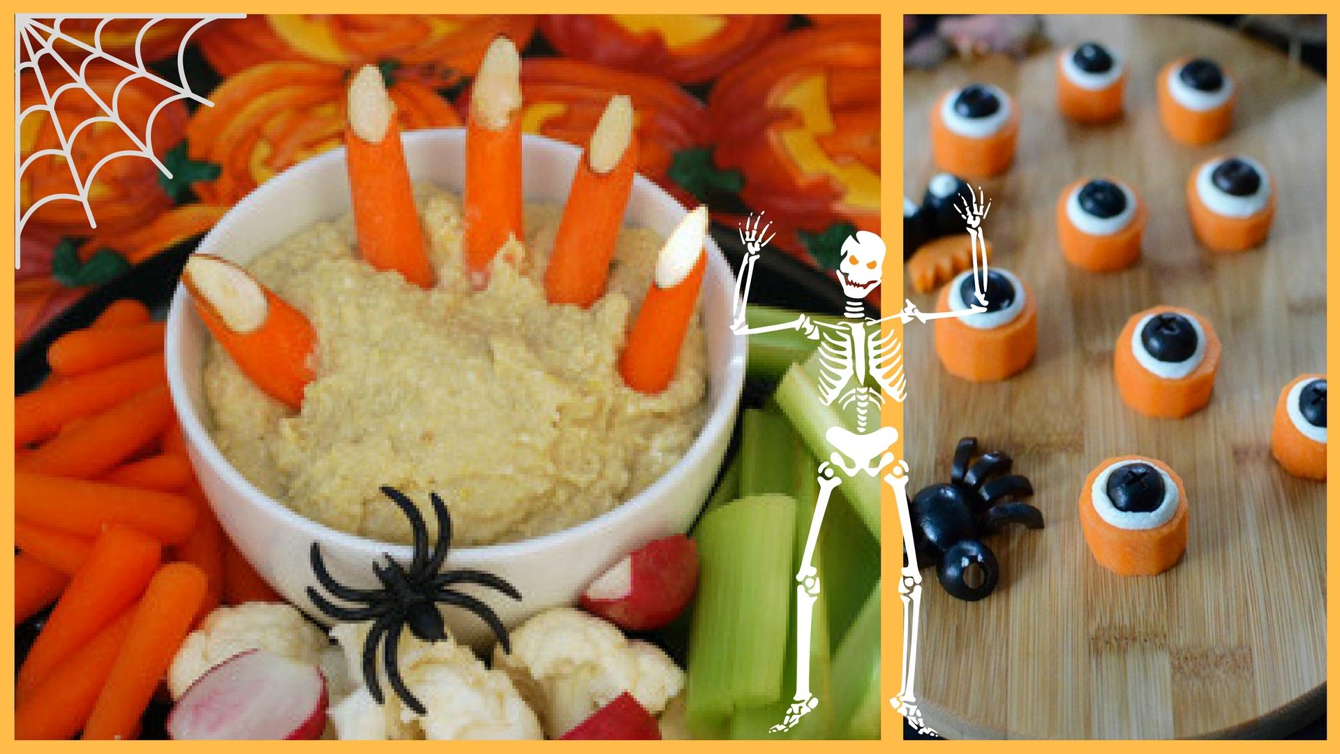 Entrée Carotte Halloween